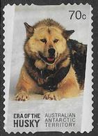 Australian Antarctic Territory 2014 Era Of The Husky 70c Type 2 Self Adhesive Good/fine Used [38/31187/ND] - Australian Antarctic Territory (AAT)