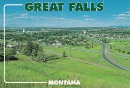 Montana Great Falls Panoramic View - Great Falls