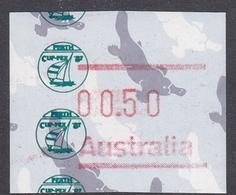 Australia ASC 1039b 1986 Frama Vending Machine Stamps,50c Platypus,Cup-Pex 87,mint Never Hinged - 1980-89 Elizabeth II