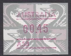 Australia ASC 1327 1992 Frama Vending Machine Stamps,45c Emu,No Postcode ,mint Never Hinged - ATM/Frama Labels