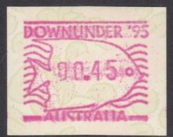 Australia ASC 1457 1995 Frama Vending Machine Stamps,Waratah,Downunder 95, Mint Never Hinged - ATM/Frama Labels