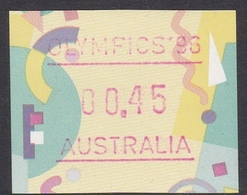Australia ASC 1569 1996 Frama Vending Machine Stamps,45c Festive Frama Olympics 96 ,mint Never Hinged - ATM/Frama Labels