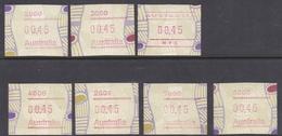 Australia ASC 1780s 1999 Frama Vending Machine Stamps,45c Tiwi Design  ,mint Never Hinged - ATM/Frama Labels