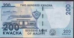 MALAWI P60c  200 KWACHA 2017  UNC. - Malawi