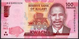 MALAWI P65c  100 KWACHA 2017  UNC. - Malawi