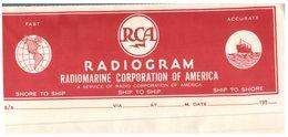(111) Radiogram Corporation Of America - Altre Collezioni