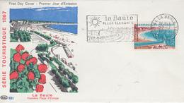 Enveloppe   FDC  Flamme   Du   1er   Jour    FRANCE   LA  BAULE    1967 - 1960-1969