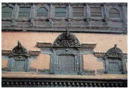 (ORL 304) Nepal To France - House Details - With Stamp - Nepal