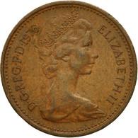 Monnaie, Grande-Bretagne, Elizabeth II, New Penny, 1976, TB+, Bronze, KM:915 - 1971-… : Monnaies Décimales