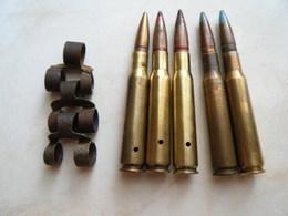 Lot 12.7mm US - Militaria