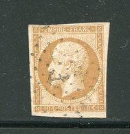Y&T N°13A- Ancre Noire - 1853-1860 Napoleon III