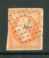 Y&T N°16- Ancre Noire - 1853-1860 Napoleone III