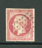 Y&T N°17B- Ancre Noire - 1853-1860 Napoleone III