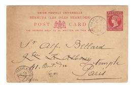 5954 - Entier Pour La France - Bermuda