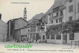 06  BREIL SUR ROYA  CHAPELLE SAINTE CATHERINE ET L'ARPETTE CAFE RESTAURANT SUPERBE - Breil-sur-Roya
