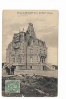 000265 Assez Rare Chateau De Chaumont Près Mainsat - Frankrijk