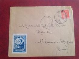 Saint Augustin Thomas D'Aquin St Jean En Royans - Postmark Collection (Covers)