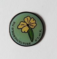 Pin's Fleur Société D'horticulture D'Ille Et Vilaine - A40 - Badges