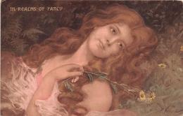 """¤¤  -   ILLUSTATEUR  """" E. VERONI """"  -  In Reacms Of Fancy  -  Style Art Nouveau  -  Femme   -   ¤¤ - Illustrators & Photographers"""