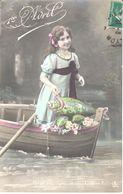 Thèmes - 1er Avril - Devinez Qui Vous L'offre - Fillette - 1er Avril - Poisson D'avril