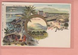 OLD POSTCARD -    1900'S - LITHO - PALESTINE - JERICHO - Palestine