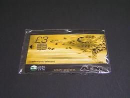 Cyprus - Cyta - ATM Cheetah Animal Mint  - 10.2003, 2.000 - Cyprus