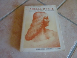 Isabelle D'Este Grande Dame De La Renaissance - Histoire