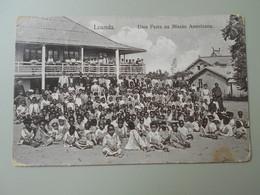 ANGOLA LOANDA UMA FESTA NA MISSAO AMERICANA - Angola