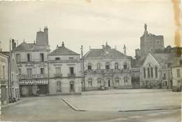 - Dpts Div.-ref-X721- Indre Et Loire - Montbazon - Place Et Hotel De L Image  - Cliche Epreuve Pour Carte Postale - - France