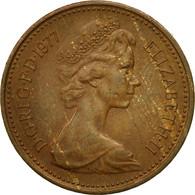 Monnaie, Grande-Bretagne, Elizabeth II, New Penny, 1977, TB, Bronze, KM:915 - 1971-… : Monnaies Décimales