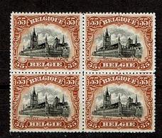 142  Bloc 4  **  12 - 1915-1920 Albert I
