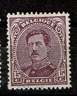 139 Aa  **  17.5 - 1915-1920 Albert I