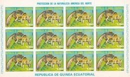 Guinea Ecuatorial Nº Michel 1240 En Hoja De 12 Sellos - Equatorial Guinea