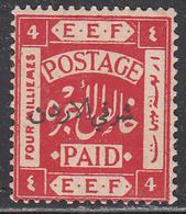 JORDAN    SCOTT NO 4      MINT HINGED      YEAR  1920      PERF- 15X14 - Jordan