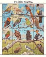 MDB-BK10-251 MINT PF/MNH ¤ GHANA 1991 KOMPL. SET ( 48w + 3blocks) ¤ BIRDS OF GHANA - AVES OISEAUX PAJAROS VOGELS VÖGEL - Songbirds & Tree Dwellers