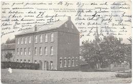 Borght-Lombeek NA1: Pensionnat Des Soeurs De St-François. Vue Du Côté Du Jardin 1919 - Roosdaal