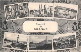 33-BRANNE- SOUVENIR MULTIVUES - France