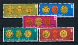 Kaimaninseln 1976 200 Jahre Vereinigte Staaten Mi.Nr. 368/72 Kpl. Satz ** - Cayman Islands