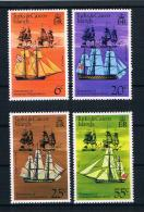 Turks & Caicos 1976 Schiffe Mi.Nr. 353/56 Kpl. Satz ** - Turks And Caicos