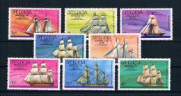 St. Lucia 1976 Schiffe Mi.Nr. 372/79 Kpl. Satz ** - St.Lucia (1979-...)