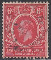 EAST AFRICA AND UGANDA     SCOTT NO 3     USED      YEAR  1921 - Protectorados De África Oriental Y Uganda