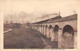 33-SAINT-MACAIRE- LE GRAND VIADUC DE LANGON - France