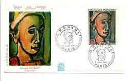 FDC 1971 PEINTURE DE GEORGES ROUAULT - FDC