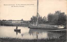 33-ISSAN-CANTENAC- LE PORT D'ISSAN-CANTENAC PAR MARGAUX - France