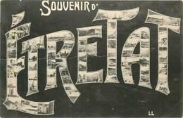 CARTE MULTIVUES  SOUVENIR D'ETRETAT - Etretat