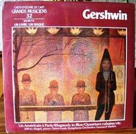 33 TOURS N° 32 VINYLE GRANDS MUSICIENS 1 LIVRE + 1 DISQUE 1980/90 NEUF GERSHWIN SOUS FILM JAZZ BLUES - SITE Serbon63 - Classical
