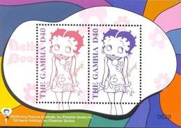 MBB-BK1-272 MINT ¤ GAMBIA 2006 BLOCK ¤ BETTY BOOP - COMICS - STRIPS - DOGS - HUNDE- CHIENS - Stripsverhalen