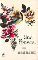 33-BEAUJEU- UNE PENSEE DE BEAUJEU - France