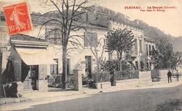 33-FLOIRAC- LA SOUYS VUE DANS LE BOURG - France