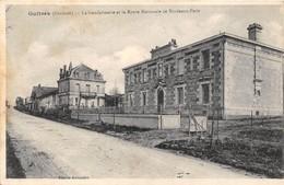 33-GUITRES- LA GENDARMERIE ET LA ROUTE NATIONALE DE BORDEAUX-PARIS - France